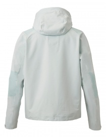 Allterrain by Descente Active Shell celestial white jacket