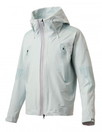 Mens jackets online: Allterrain by Descente Active Shell celestial white jacket
