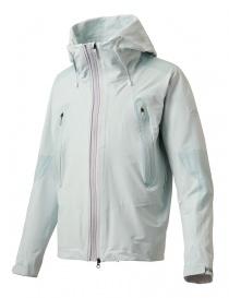 Giubbino Allterrain by Descente Active Shell colore bianco celeste DAMLGC36U-CLWH order online