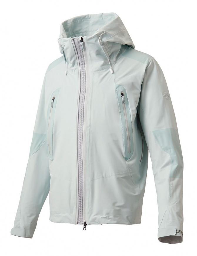 Giubbino Allterrain by Descente Active Shell colore bianco celeste DAMLGC36U-CLWH giubbini uomo online shopping