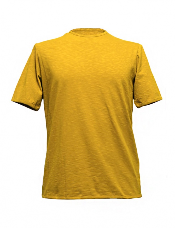 T-shirt Camo Dr. Fager colore ocra AC0024-NEW-BASIC-T-S t shirt uomo online shopping