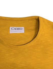 T-shirt Camo Dr. Fager colore ocra prezzo