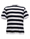 T-shirt Camo Dr. Fager a righe navy bianco acquista online AC0022-NEW-NAVY-WHITE