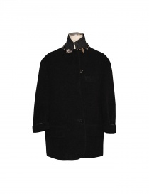 Cappotto kolor colore nero J01101 A