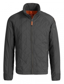 Mens jackets online: Parajumpers Theo asphalt grey jacket