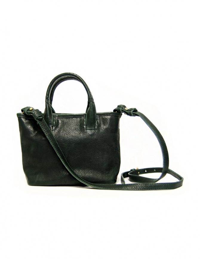 Borsa piccola Cornelian Taurus by Daisuke Iwanaga in pelle verde 17FWCO040 D.GREEN borse online shopping