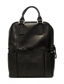 Cornelian Taurus by Daisuke Iwanaga black leather backpack online