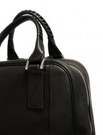 Zaino Cornelian Taurus by Daisuke Iwanaga in pelle nera borse acquista online