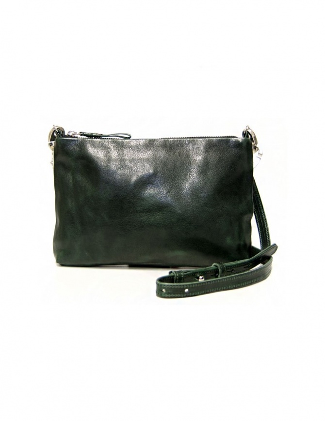 Cornelian Taurus by Daisuke Iwanaga green leather bag 13SSTR100 D.GREEN bags online shopping