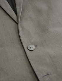 Giacca Label Under Construction Formal colore grigio prezzo