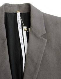 Giacca Label Under Construction Formal colore grigio giacche uomo acquista online