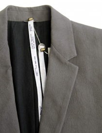 Label Under Construction Formal grey blazer mens suit jackets buy online