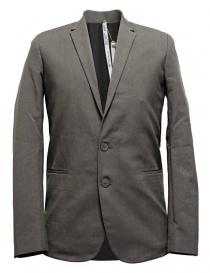 Label Under Construction Formal grey jacket online