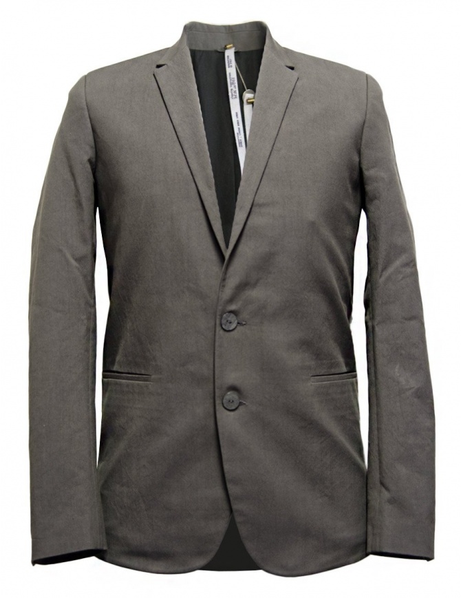 Label Under Construction Formal grey jacket 31FMJC96-CO198B-31M mens suit jackets online shopping