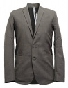Label Under Construction Formal grey jacket buy online 31FMJC96-CO198B-31M