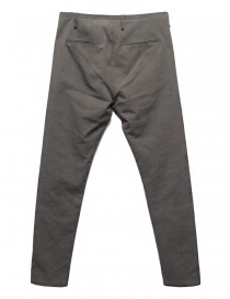 Label Under Construction One Cut grey trousers