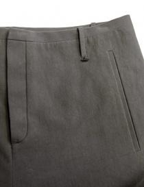 Pantalone Label Under Construction One Cut colore grigio prezzo