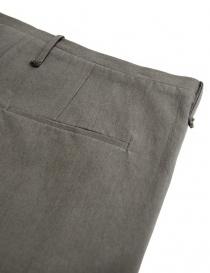 Pantalone Label Under Construction One Cut colore grigio pantaloni uomo acquista online