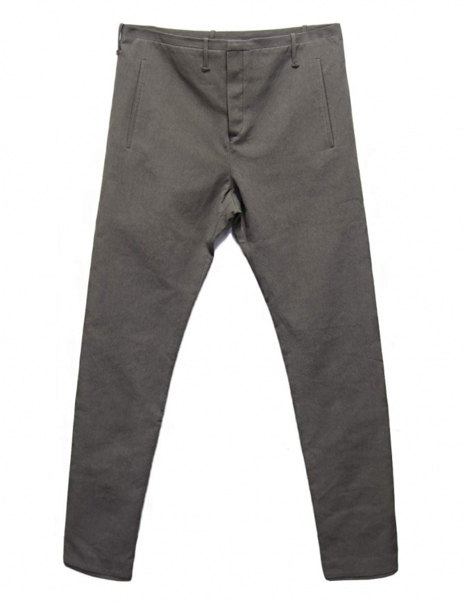 Label Under Construction One Cut grey trousers 31FMPN90-CO198A-31M mens trousers online shopping