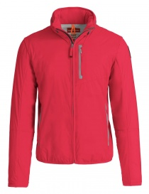 Mens jackets online: Parajumpers Duluth tomato red jacket