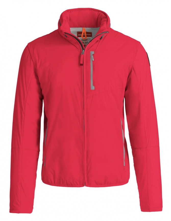 Parajumpers Duluth tomato red jacket PM JCK EW02 DULUTH 722 mens jackets online shopping