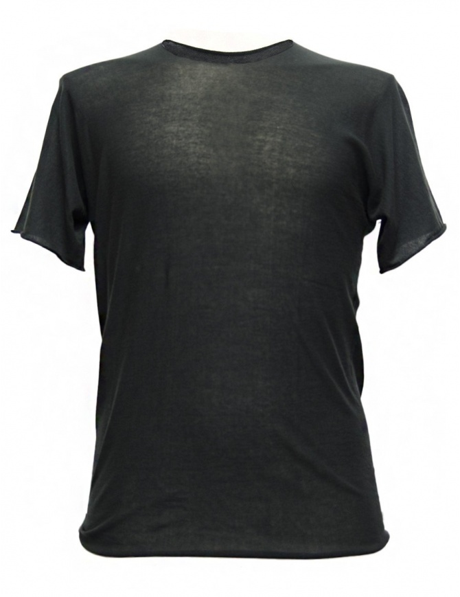 T-shirt Label Under Construction Parabolic Zip Seam colore grigio 31YMTS280-CO132-31-73