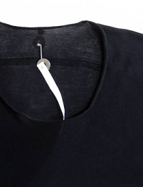 T-shirt Label Under Construction Parabolic Zip Seam colore navy t shirt uomo acquista online