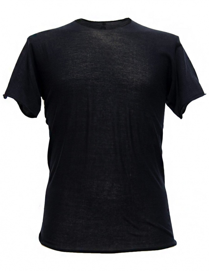 T-shirt Label Under Construction Parabolic Zip Seam colore navy 31YMTS280 CO132 31/84 TEE t shirt uomo online shopping