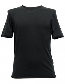 T shirt uomo online: T-shirt Label Under Construction Punched colore grigio scuro