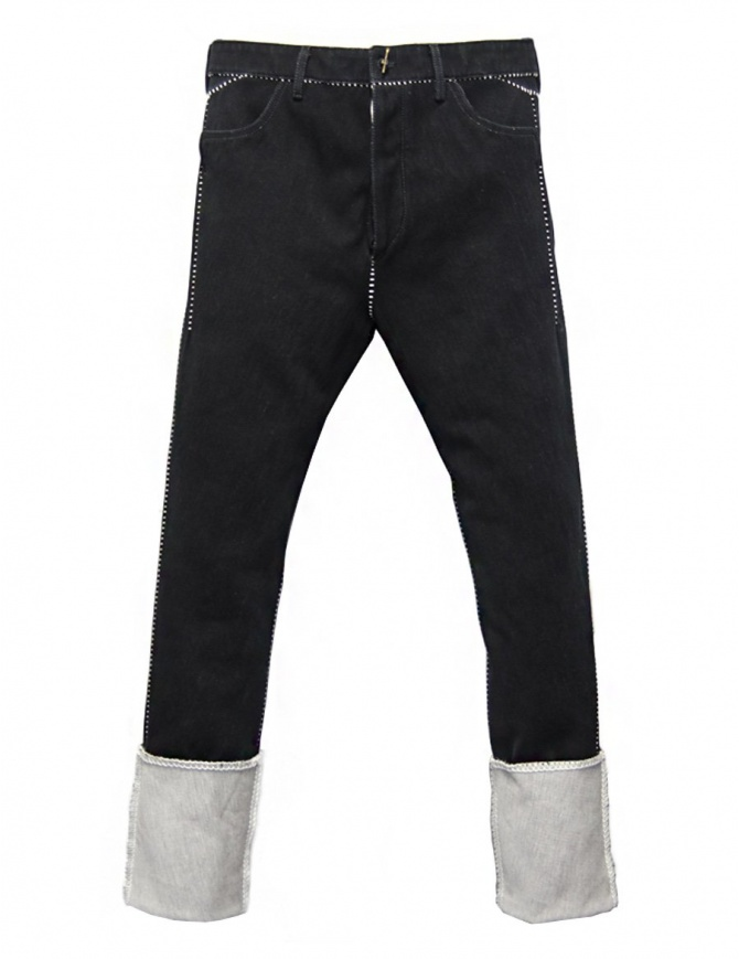 Carol Christian Poell JM2625 In-Between denim trousers JM/2625-IN-KIT-BW/101 mens jeans online shopping