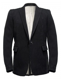 Mens suit jackets online: Carol Christian Poell JM2621 In-Between denim jacket