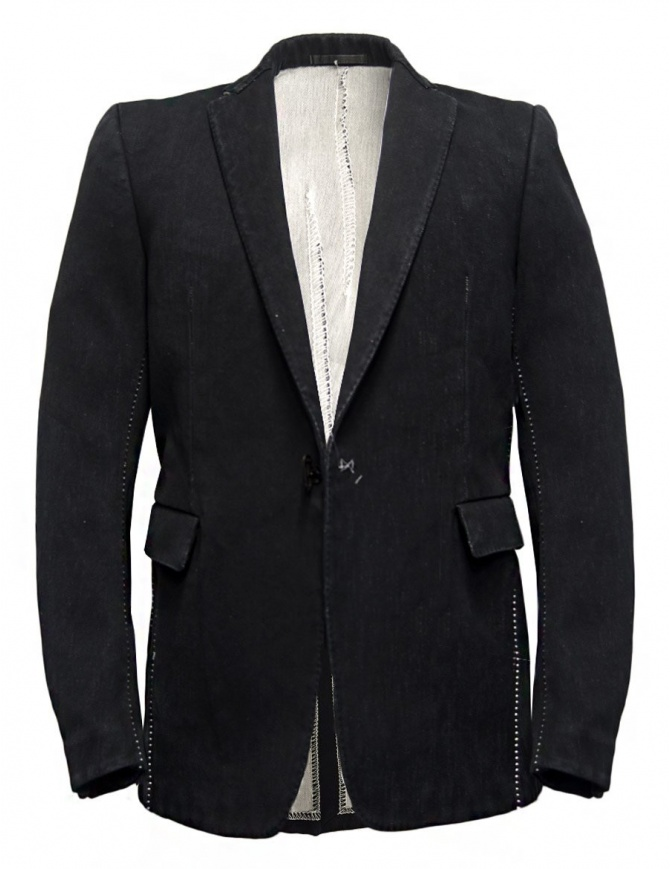 Carol Christian Poell JM2621In-Between denim jacket JM/2621-IN KIT-BW/101 mens suit jackets online shopping
