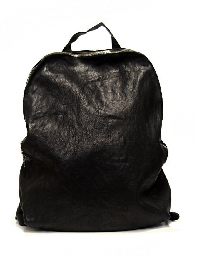 Guidi G4 horse leather backpack G4-SOFT-HORSE-FG-CV39T