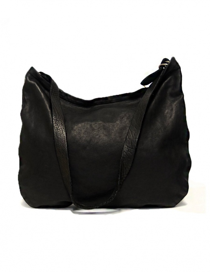 Guidi Q20 black leather bag Q20-SOFT-HORSE-FG-CV39T bags online shopping
