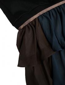 Kolor black dress with K embrodery price