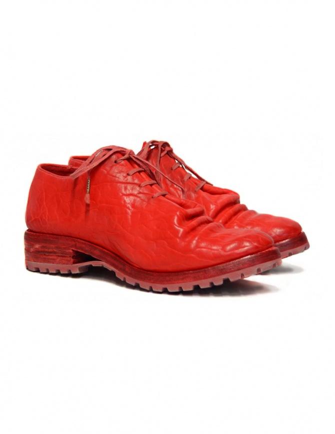 Scarpa Carol Christian Poell in pelle rossa AM2680T-BIUS-PTC-13-OXFORD calzature uomo online shopping