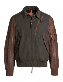 Mens jackets online: Parajumpers Sergeant bush green jacket