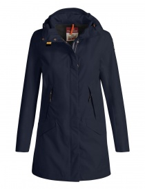 Womens jackets online: Parajumpers Rachel navy jacket