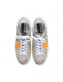 Sneaker Golden Goose Superstar colore light grey calzature uomo acquista online