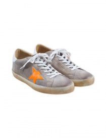 Calzature uomo online: Sneaker Golden Goose Superstar colore light grey