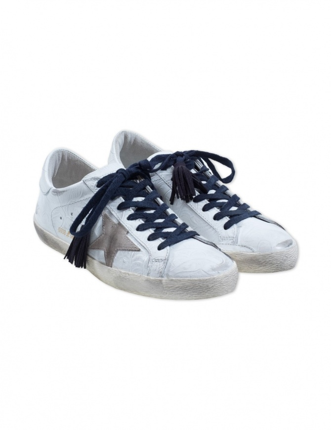 Sneaker Golden Goose Superstar Rose Edt G32MS590.TEX calzature uomo online shopping
