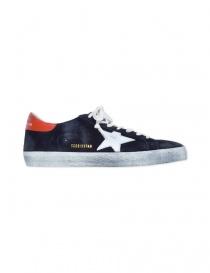 Deep blue Golden Goose Superstar Sneakers price