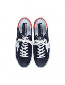 Deep blue Golden Goose Superstar Sneakers mens shoes buy online