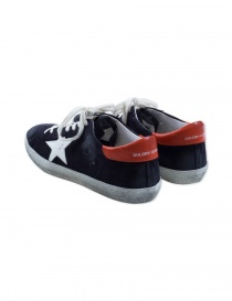 Deep blue Golden Goose Superstar Sneakers