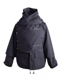 Giacca Kapital Kamakura nera e grigia K1803LJ002 order online