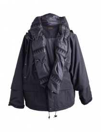Kapital Kamakura Black and Grey Jacket mens coats buy online