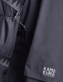 Kapital Kamakura Black and Grey Jacket buy online price