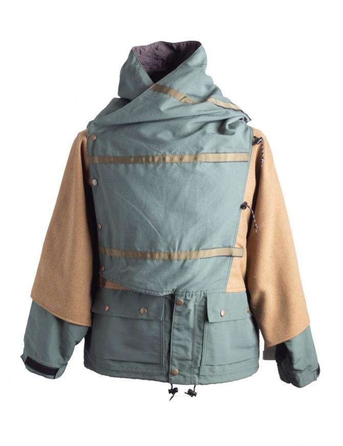 Giacca Kapital Kamakura Verde e Oro K1711LJ215 cappotti uomo online shopping