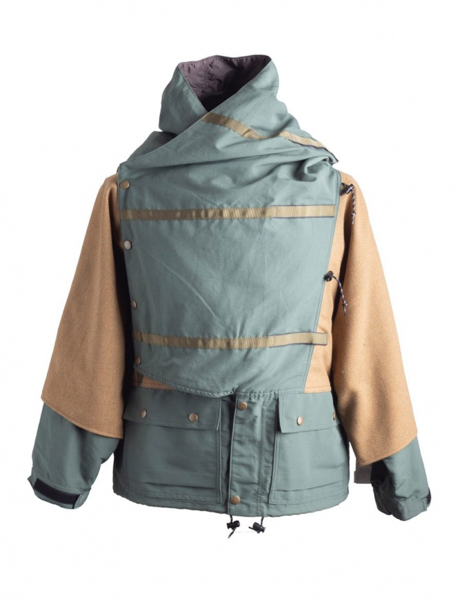 Green and Gold Kapital Kamakura Jacket K1711LJ215 mens coats online shopping