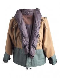 Giacca Kapital Kamakura Verde e Oro cappotti uomo acquista online